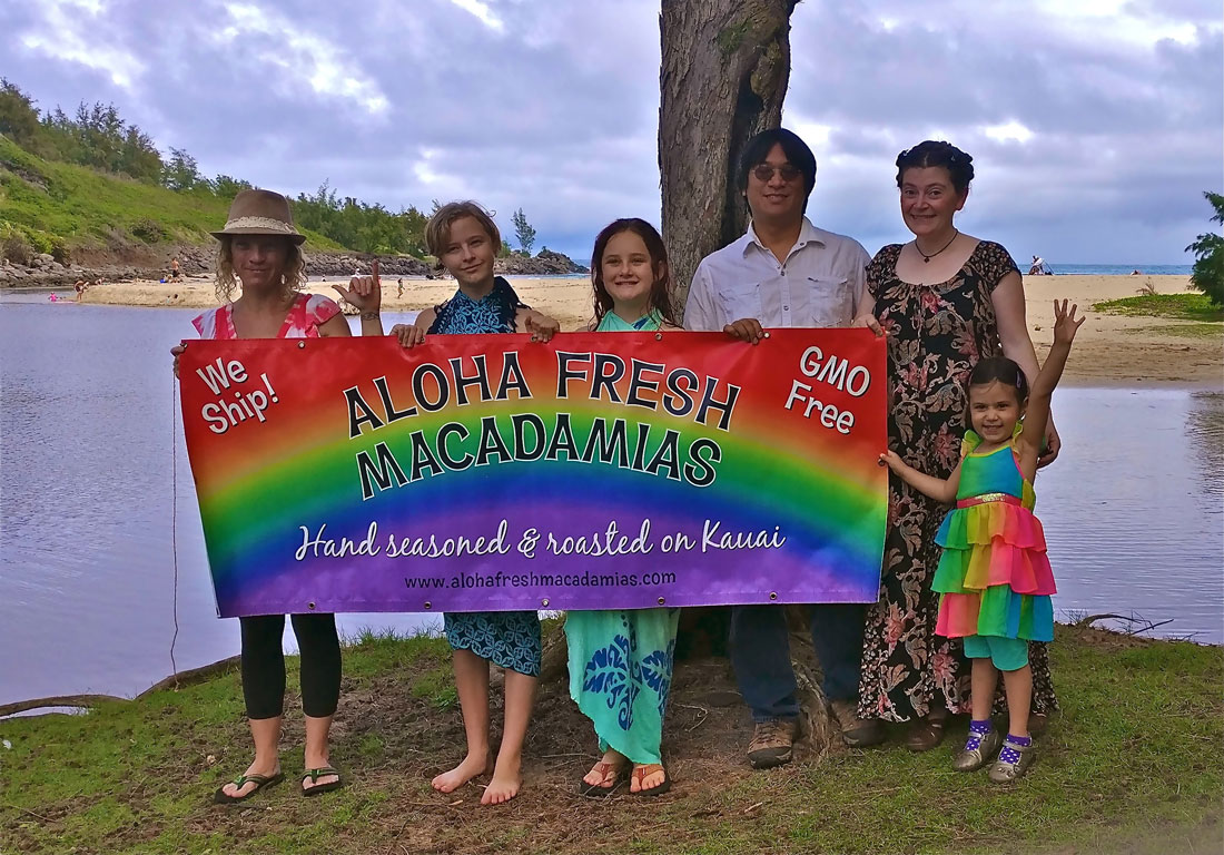 Katie Young, Owner of Aloha Fresh Macadamias