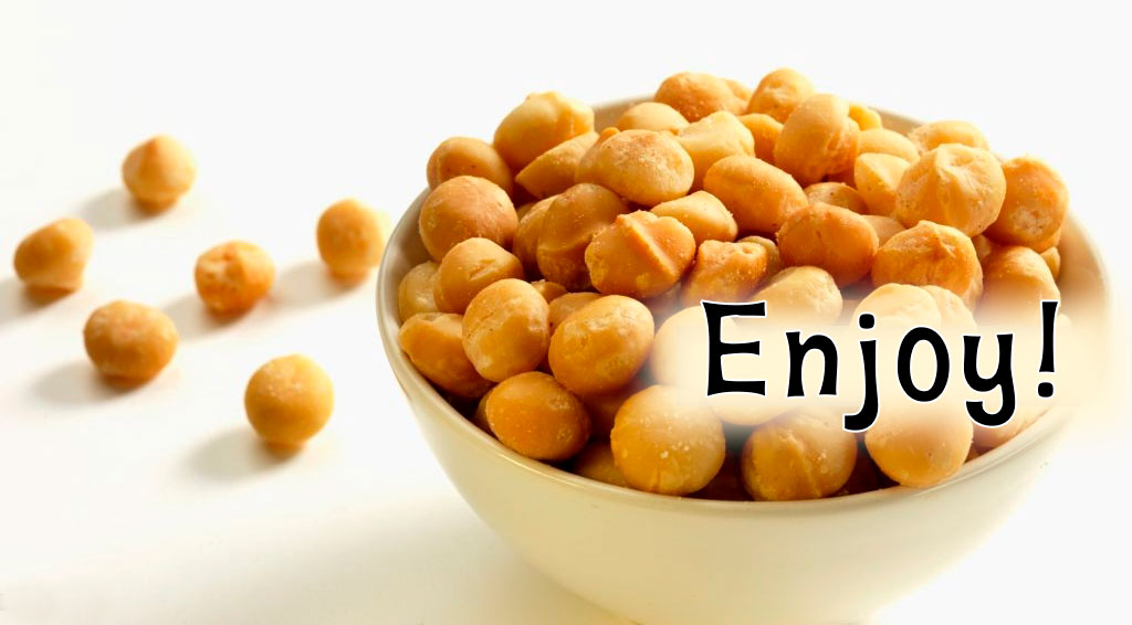 Enjoy Macadamia Nuts